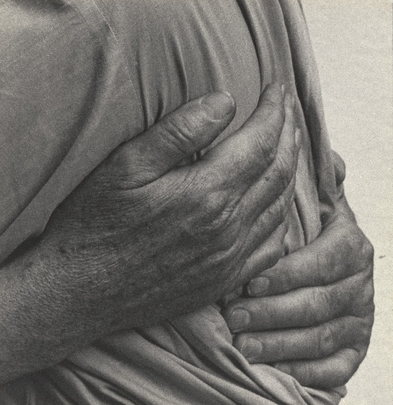 Dorothea Lange. Paul's Hands. 1957